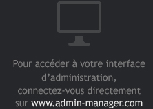 interface administration www.admin-manager.com