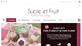 Sucre et fruit